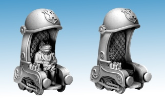 Krapaud railchair grey (2)